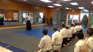 Sinclair Sensei leading a seminar in Philly